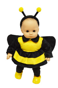 Bumble Bee Outfit For American Girl Dolls Bitty Baby