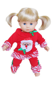 My Brittany's Santa Pjs for Bitty Twins