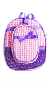 My Brittany's Purple & Pink Backpack + Lunch Box for American Girl Dolls