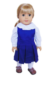 My Brittany's Solid Navy School Jumper for American Girl Dolls