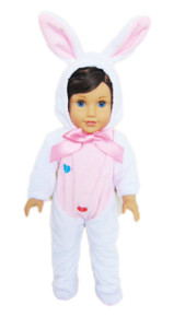 My Brittany's White Easter Bunny Costume for American Girl Dolls