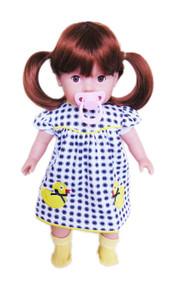 My Brittany's Tiny Tots Girl - Auburn Hair/ Brown Eyes