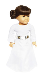 My Brittany's Star Wars Themed Princess Leia Outfit for American Girl Dolls
