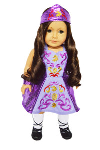 My Brittany's Purple Irish Dance Outfit for American Girl Dolls