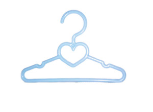 My Brittany's 5.5 Inch Blue Heart Hangers for Wellie Wisher Dolls-10Pk