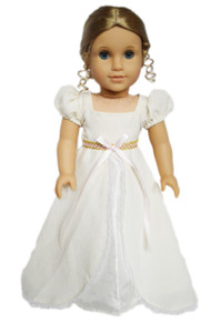 My Brittany's  Ivory Victorian Gown for American Girl Dolls