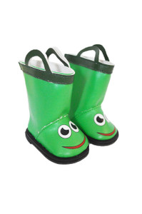 Frog Boots for American Girl Boy Dolls
