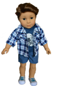 My Brittany's Rock Outfit For American Girl Boy Dolls
