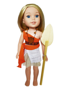 My Brittany's Moana Oufit for Wellie Wisher Dolls