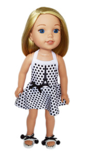 My Brittany's Paris Swimsuit for Wellie Wisher Dolls