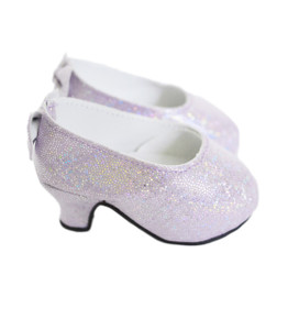 My Brittany's Lavender Bow Heels for American Girl Dolls