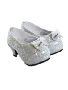 My Brittany's Silver High Heel Shoes for American Girl Dolls
