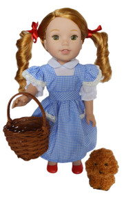 My Brittany's Dorothy Outfit for Wellie Wisher Dolls with Shoes
