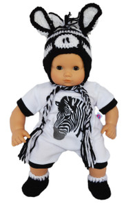 "My Brittany's ""I'm a Little Zebra"" Outfit for Bitty Baby Dolls"