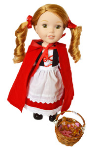 My Brittany's Little Red Riding Hood for Wellie Wisher Dolls