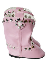 My Brittany's Western Studded Boots for American Girl Dolls