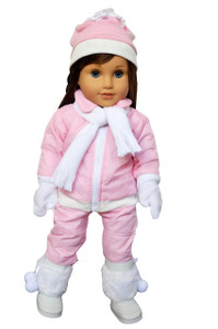 My Brittany's Pink Snow Pants and Jacket  for American Girl Dolls