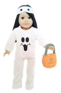 GHOST OUTFIT FOR AMERICAN GIRL DOLL