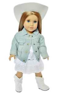 Western Cowgirl Outfit for American Girl Dolls