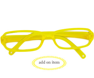My Brittany's Lemon Yellow Reading Glasses for American Girl Dolls - Add on Item