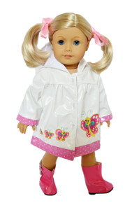 My Brittany's Spring Raincoat for American Girl Dolls