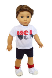 My Brittany's USA Boy set for American Girl Boy Dolls