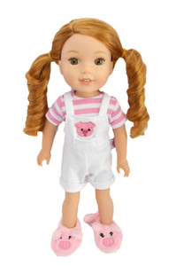 My Brittany's Little Piggy Outfit for Wellie Wisher Dolls