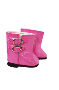 My Brittany's Pink Rain Boots for Wellie Wisher Dolls