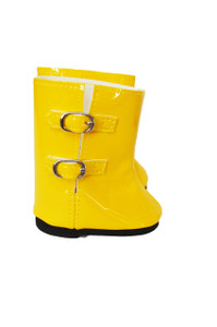 My Brittany's Yellow Rain Boots for American Girl Dolls- 18 Inch Doll Boots-Fits My Life as Dolls-Our Generation Dolls-American Girl Dolls