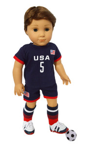 My Brittany's USA Soccer Outfit for American Girl Dolls