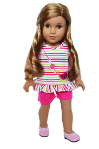 My Brittany's Watermelon Splash Outfit for American Girl Dolls -18 Inch Doll Clothes
