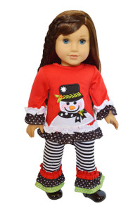 My Brittany's Snowman Outfit for American Girl Dolls- 18 Inch Doll Clothes- Sold Out