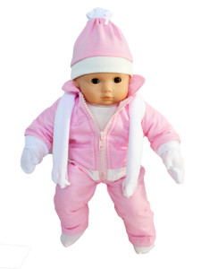 My Brittany's Pink Snowsuit for Bitty Baby and Bitty Twins Dolls