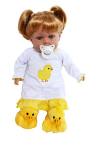 My Brittany's Spring Chick Nightgown for Bitty Baby Dolls- 15 Inch Doll Clothes