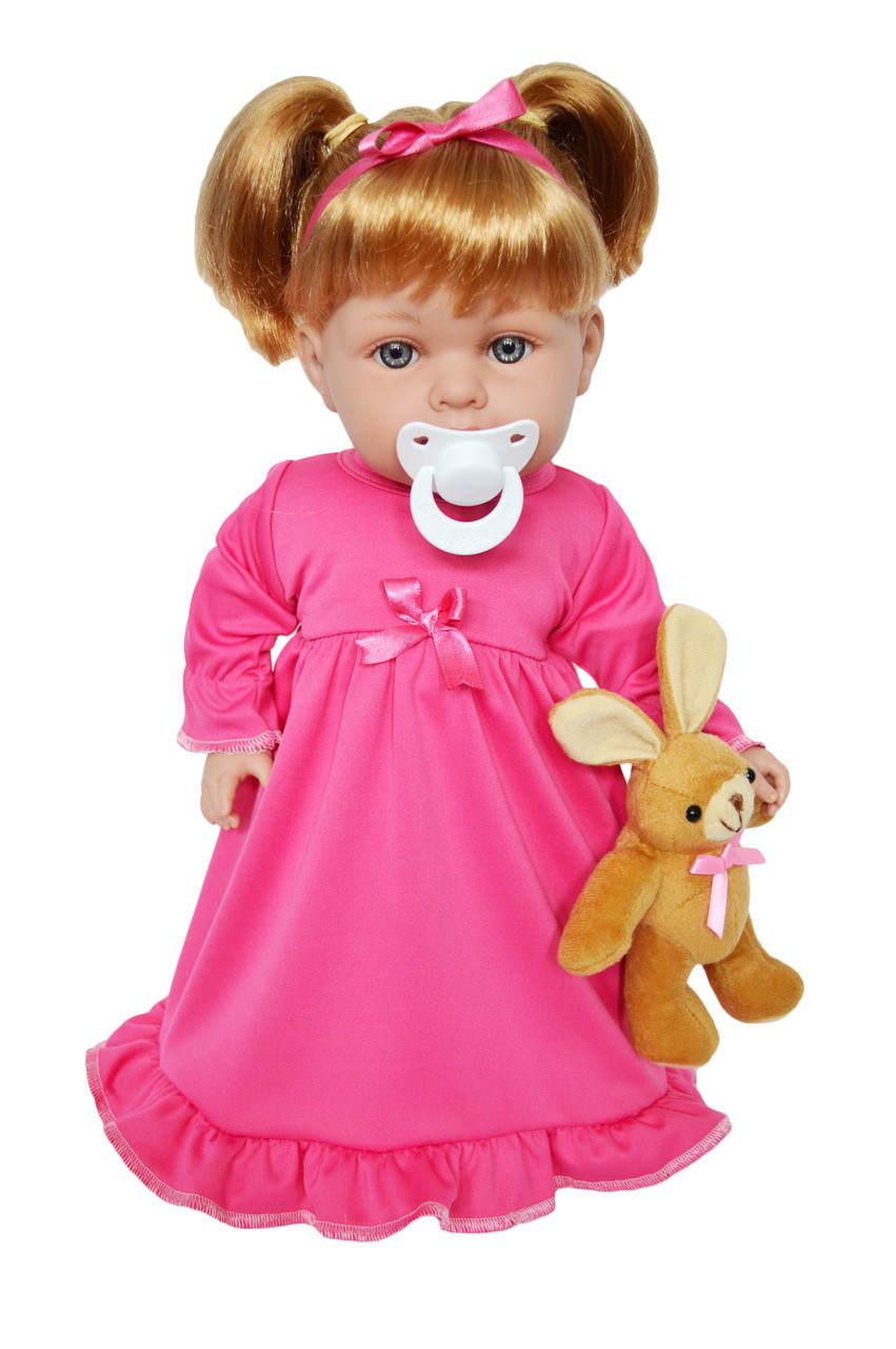 26f383b42 My Brittany s Pink Nightgown with Bunny for Bitty Baby Dolls- 15 ...