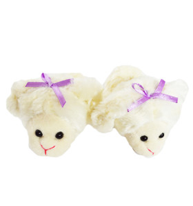 My Brittany's Lamb Slippers for 14 Inch Dolls- Fits Glitter Girl Dolls, Hearts for Hearts Dolls and Wellie Wisher Dolls