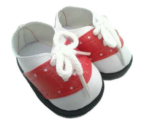My Brittany's Red and White Saddle Shoes for American Girl Dolls