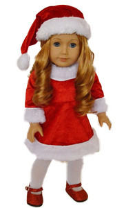 My Brittany's Santa Dress for American Girl Dolls