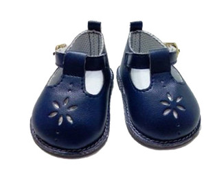 My Brittany's Navy Flower Shoes for American Girl Dolls