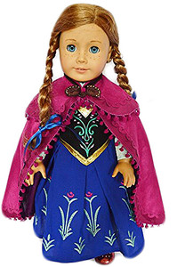 My Brittany's Anna Inspired Gown for American Girl Dolls