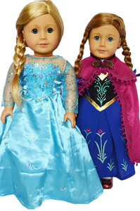ANNA AND ELSA GOWN