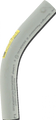 "4"" 45° PVC Elbow"