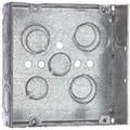 """4 11/16"""" Metal Square Box - Theppit #TP563"""