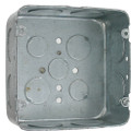 "SQ4116   4 11/16"" Metal Square Box"