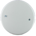 "EP107-WH   5"" Round Ceiling-Box Blank Cover"