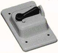 Weatherproof Single Gang Toggle Switch Cover #VSC15/10