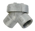 "Y-1    1/2"" 90° Explosion-Proof Capped Elbow"