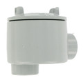 """GUAB-47   1 1/4""""Crouse-Hinds Explosion-Proof Conduit Outlet Box with Cover"""