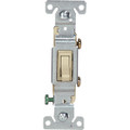 15A Residential Grade Toggle Switch #1301-7V   Ivory