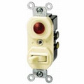 15A Single Pole Combination Toggle/Pilot #5226-I